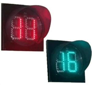 400mm Two Digits Red-Green Countdown Timer: