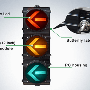200mm HI-Flux Traffic Light: