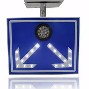 High-way Reflective solar LED traffic sign board