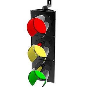 300mm HI-Flux Traffic Light: