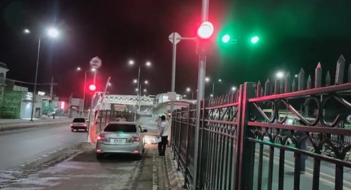 Peshawar BRT Vehicle Access Control Management System