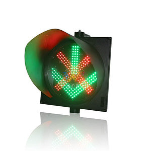 400 mm Cross Arrow Signal Light