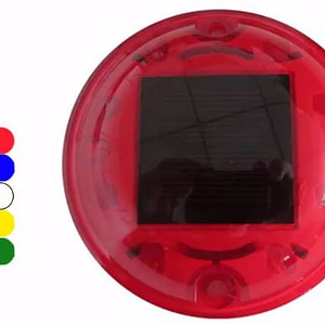 Plastic Round LED Light Solar Road Stud