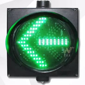 300 mm single arrow LED traffic signal light