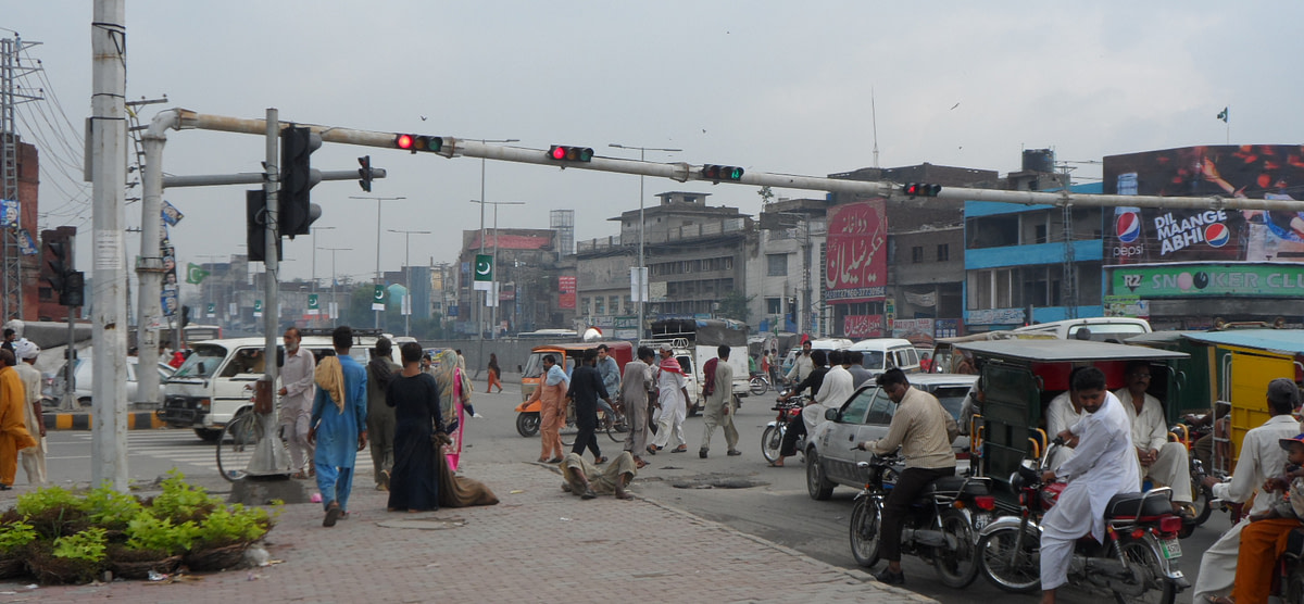 Centralized ITS System in Lahore